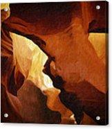 Antelope Canyon 26 Acrylic Print