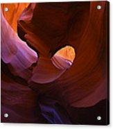 Antelope Canyon 10 Acrylic Print