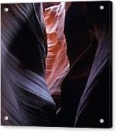 Antelope Canyon 5 Acrylic Print by Jeff Brunton