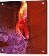 Antelope Canyon Passage Acrylic Print