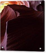 Antelope Canyon Sandstone Magic Acrylic Print