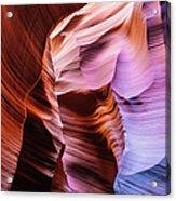 Antelope Canyon Spiral Rock Arches Acrylic Print