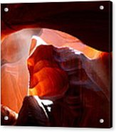 Antelope Canyon Sunbeams Acrylic Print