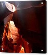 Antelope Canyon Upper 4 Acrylic Print by Carrie Putz