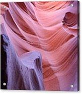Antelope Canyon Waves Acrylic Print