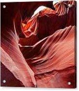Antelope Crevice Acrylic Print