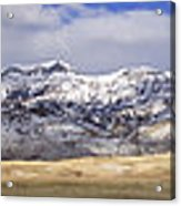 Antelope On The South Fork - 14x96 Acrylic Print
