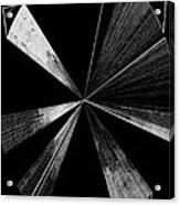 Antenna- Black And White  Acrylic Print