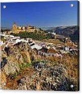 Antequera Alcazaba Acrylic Print