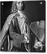 Anthony Askew (1722-1774) Acrylic Print