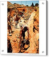 Anthony Howarth Collection - Gold- Re-working Old Mines - S.a. Acrylic Print