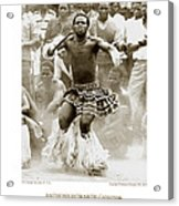 Anthony Howarth Collection - Gold - Sunday Mine Dance 2 - S.a. Acrylic Print