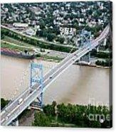 Anthony Wayne Bridge Toledo Ohio Acrylic Print