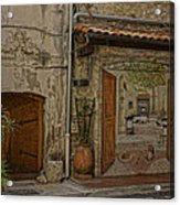 Antibes France Scene Paintings Dsc02278  Acrylic Print