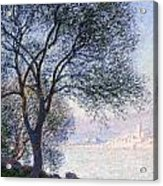 Antibes Seen From The Salis Acrylic Print