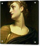 Antigone Acrylic Print by Frederic Leighton