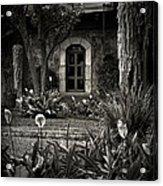Antigua Garden Acrylic Print