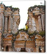 Antigua Ruins Acrylic Print