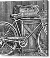 Antiquated Bike Acrylic Print