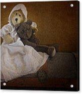 Antique Bears Acrylic Print