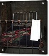 Antique Bed Acrylic Print