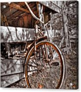 Antique Bicycle Acrylic Print