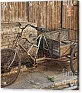Antique Bicycle In The Town Of Daxu Acrylic Print