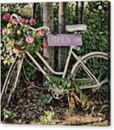 Antique Bike Acrylic Print