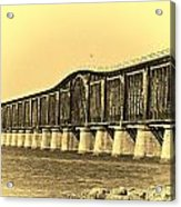 Antique Bridge Acrylic Print