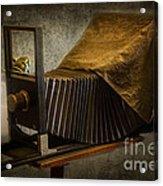 Antique Camera Acrylic Print by Susan Candelario