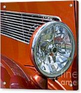 Antique Car Headlight Acrylic Print