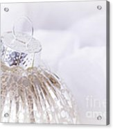 Antique Christmas Bauble Acrylic Print by Jane Rix