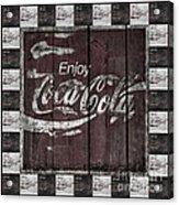 Antique Coca Cola Signs Acrylic Print
