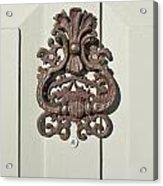 Antique Door Knocker Acrylic Print
