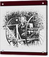 Antique Farm Machine Acrylic Print