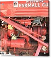 Antique Farmall Cub Engine Acrylic Print