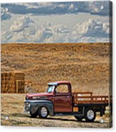 Antique Ford Truck Acrylic Print