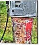 Antique Gas Pump 3 Acrylic Print