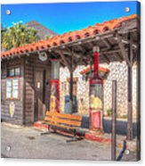 Antique Gas Station Acrylic Print