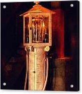 Antique Gasoline Pump Acrylic Print