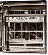 Antique Guns And Swords - French Quarter Acrylic Print