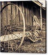 Antique Hay Rake Acrylic Print