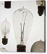 Antique Light Bulbs Acrylic Print