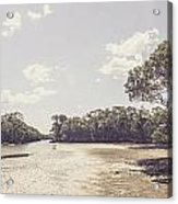 Antique Mangrove Landscape Acrylic Print