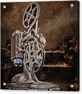 Antique Movie Projector Acrylic Print