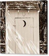 Antique Outhouse Acrylic Print