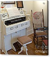 Antique Parlor Organ Acrylic Print