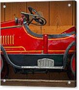 Antique Pedal Car 2 Acrylic Print