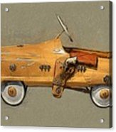 Antique Pedal Car L Acrylic Print