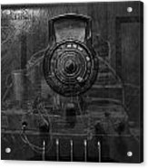 Antique Philco Radio Model 37 116 Bw Merge Acrylic Print